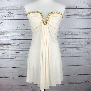 🆕 Sky | Ribbon Chain Mini Dress